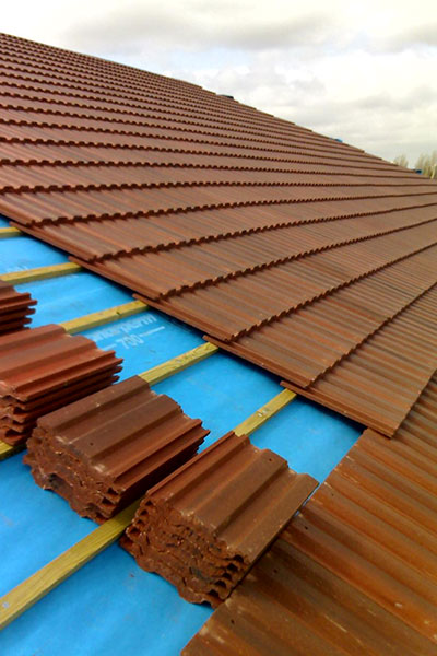 Tile roofing palm springs roofing for Efficient roofing